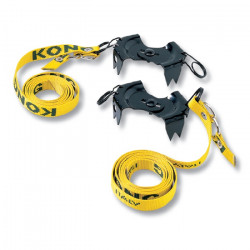 CRAMPONS GRODEL 4 ptes, taille universelle, alu,