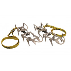 CRAMPONS GRAND COURSE ALU 12 PTES CABLES