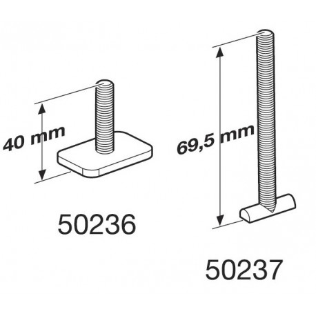 OutRide 561, VIS M6 x 40mm