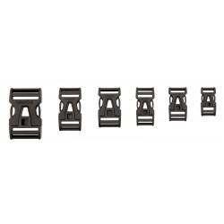 Steckschnalle 15 mm Single Adjust